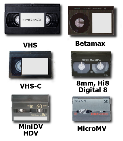 video transfer service VHS to DVD VHS to Digital camcorder to digital